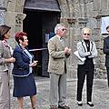 Inauguration officielle de la cloche de l'église de saint-gence