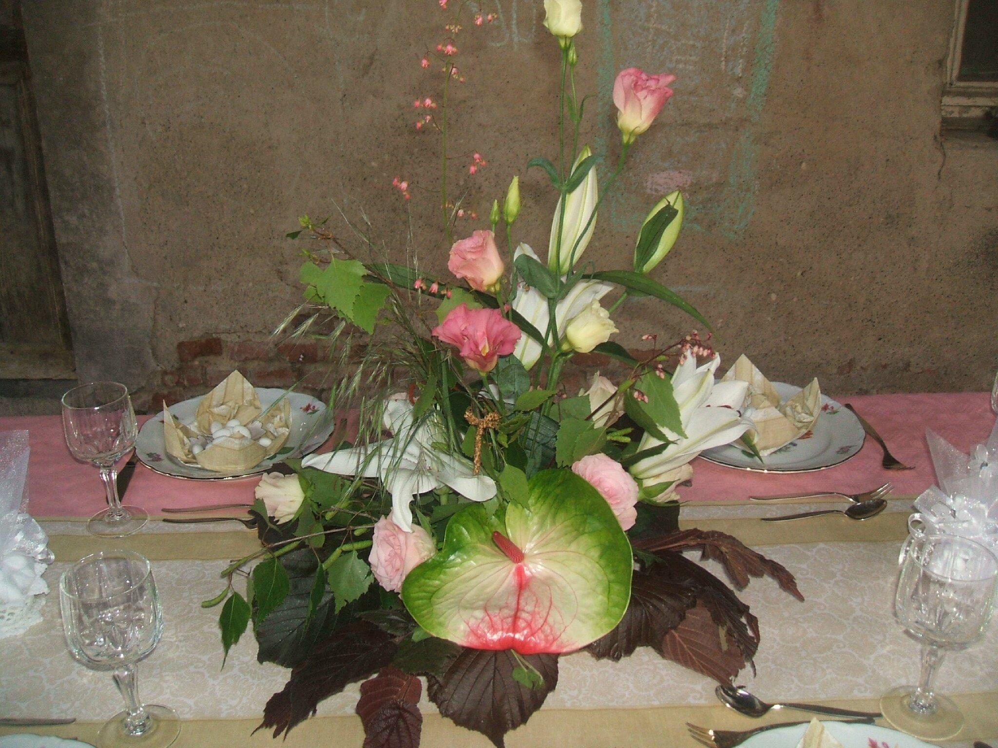 Arrangement floral pour une communion blogs de cuisine for Arrangement de cuisine