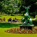 Atmosphère au jardin du Luxembourg.