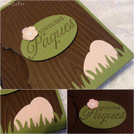 Carte Flip Lapin Pâques 4