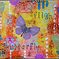 Flight butterfly