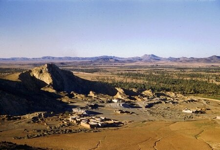 1956-MRK-Vue gn,prise du Djebel Guliz-1-r