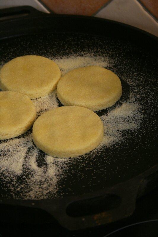 Harcha à l'huile d'olive - Passion culinaire Minouchka 2