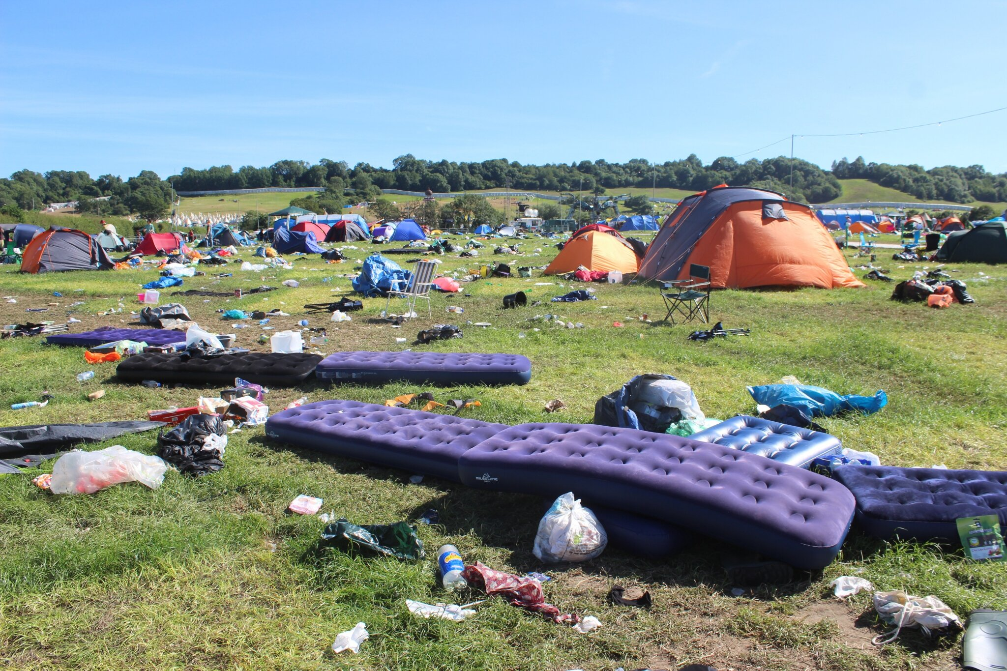 Glastonbury festival en 10 photos • J+5 • lundi 29 juin 2015