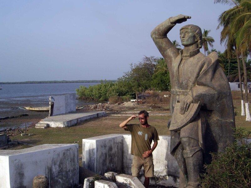 Christophe Colomb à Cacheu