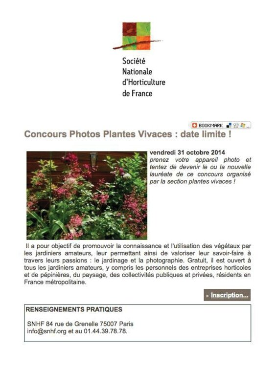 SNHF concours photo