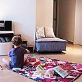 couverture - en tapis de jeu