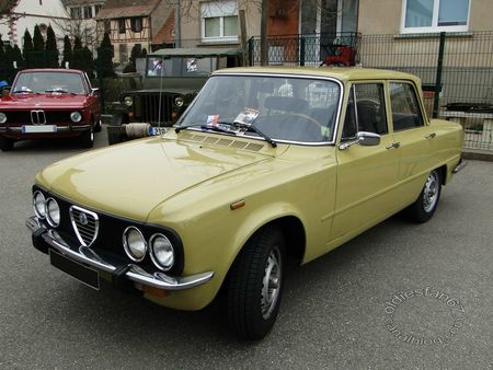 alfa romeo giulia nuova super, 1974 1977, Bourse de chatenois 2013 3