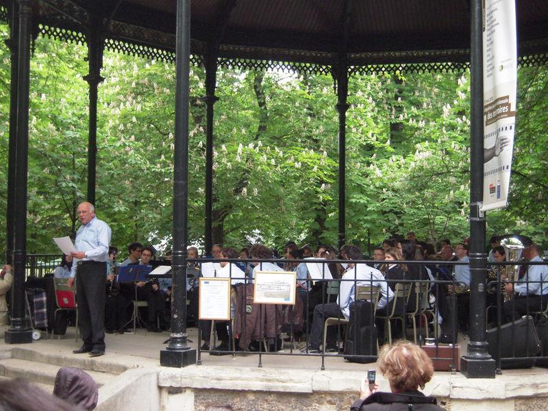 Concert au jardin du luxembourg du nord au sud mes for Au jardin du luxembourg