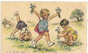 enfants joie