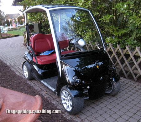 Garia luxury golf car (Europapark) 01