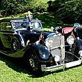 Mercedes 500k w29 cabriolet c erdmann & rossi 1935
