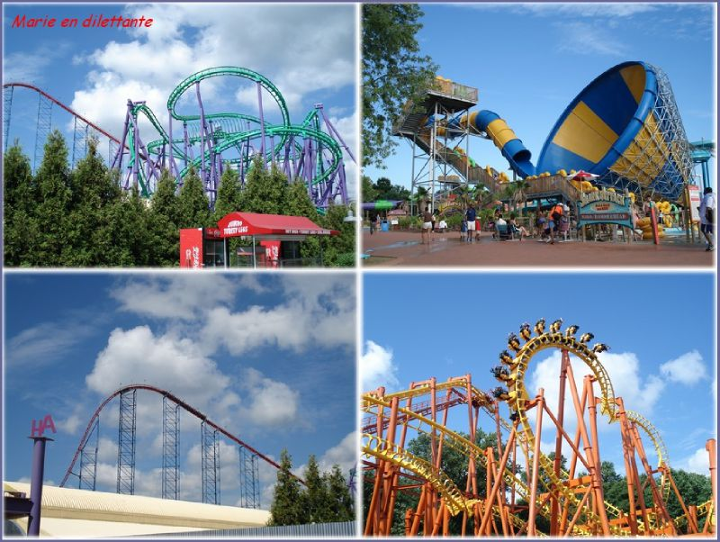 4 photos SIX FLAGS