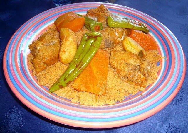 Prenez un recette couscous marocain poisson