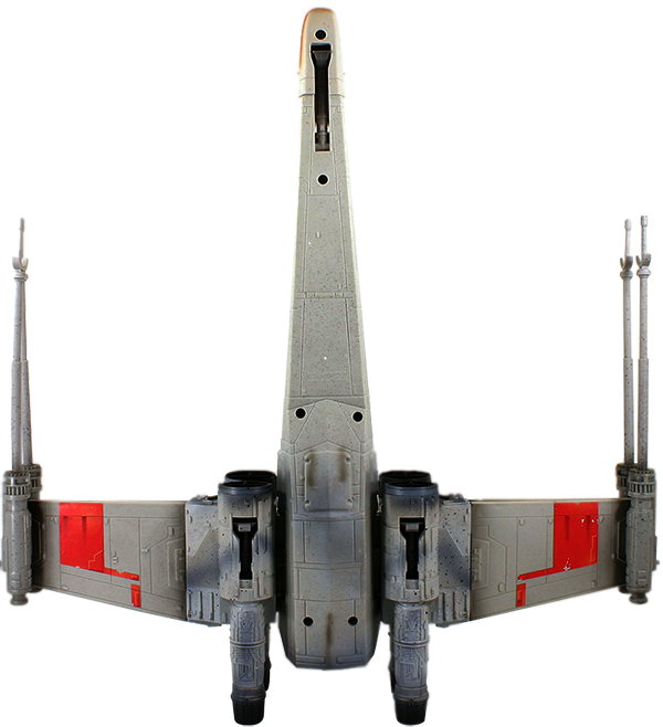 Red Leader x-wing under