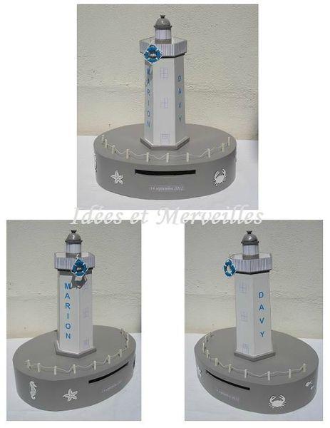 urne phare mer