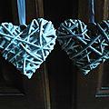 Guirlande de coeur en papier