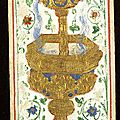 13 - ca 1450 VISCONTI SFORZA Pierpont Morgan ou Colleoni Baglioni - As de Coupes - Morgan Library