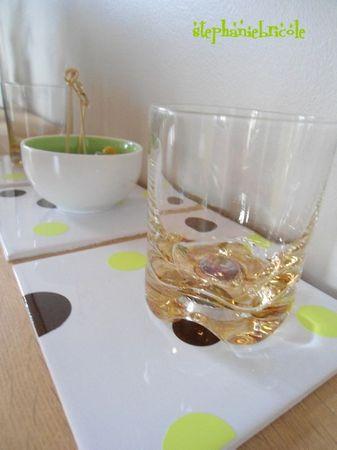 dessous de verre récup