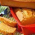Cake maïs polenta salakis.