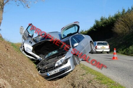 voiture d'accident