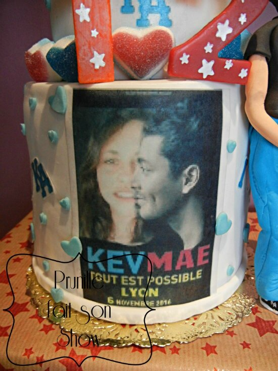 Gateau KEV ADAMS