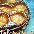 {Tarte Bourdaloue aux poires}