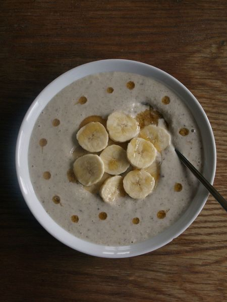porridge sarrasin banane rable