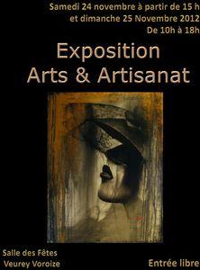 Expo Arts et Artisanat_Veurey Voroize 24-25 novembre 2012