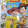 Magazine Toy Story + figurine Woody