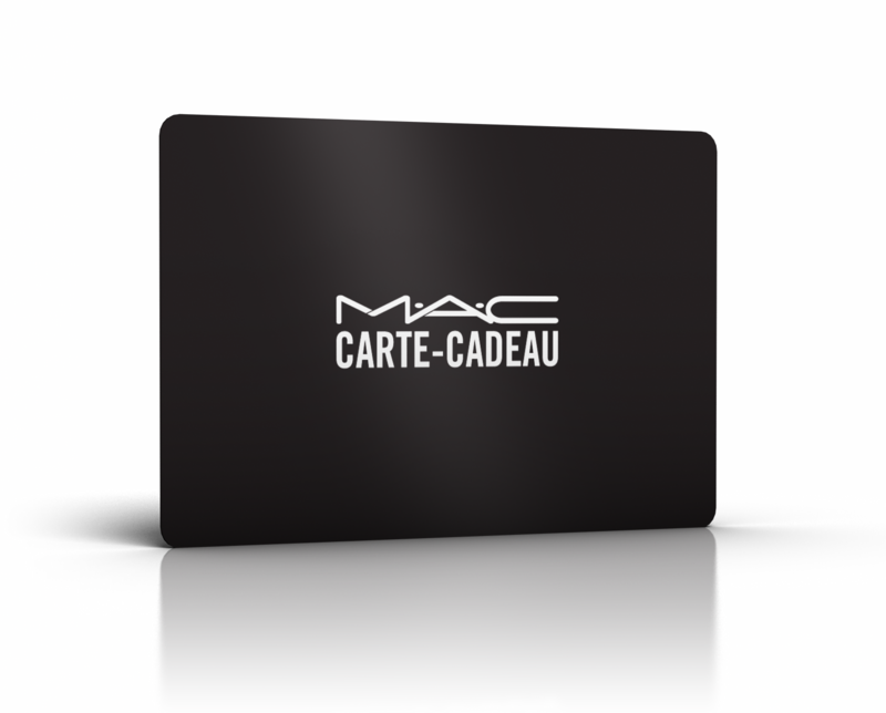 carte cadeau m a c cosmetics le blog des cartes cadeaux. Black Bedroom Furniture Sets. Home Design Ideas