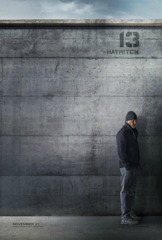 Haymitch poster Mockingjay Part 1