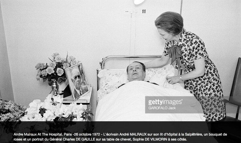 Malraux à l'hôpital 1972 (2)