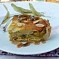 Clafoutis aux reine-claude, amandes & miel de tilleul ..... des nouvelles de thomie aussi