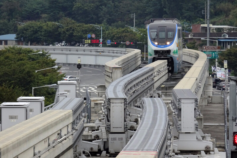 Switch Daegu Monorail