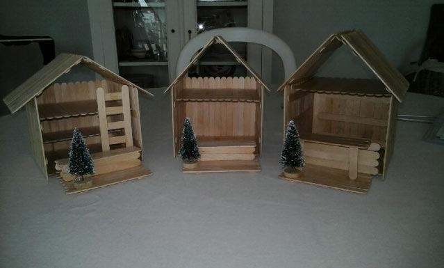 3 chalets