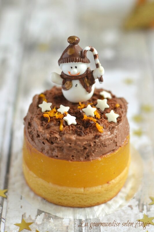 de Noël {farine de lupin, orange & chocolat} #vegan - La gourmandise ...