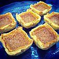 Tartelettes au caramel au beurre salé