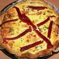 Quiche Saumon fum carottes 