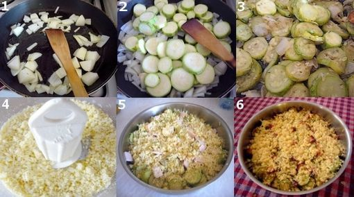 montage courgette