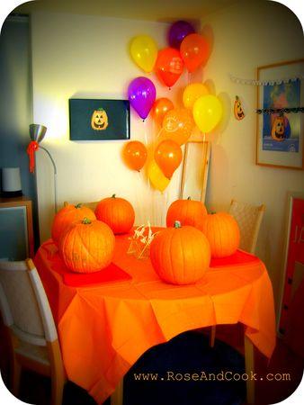 Une fête d Halloween pour enfants - Rose   Cook 276c8502482