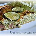 Quiche jambon courgettes & boursin
