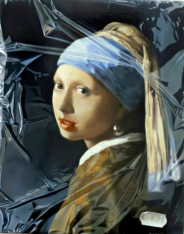 Girl-with-a-Pearl-Earring-in-Plastic_2003_75x60cm