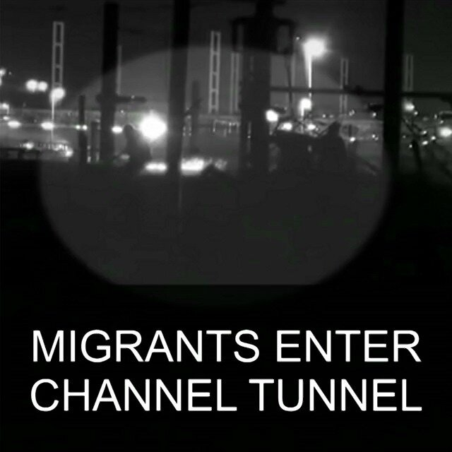 29-JUL-Migrants-enter-Channel-Tunnel-caught-on-camera-Migrants-Eurotunnel-Channeltunnel-Calais-Calai
