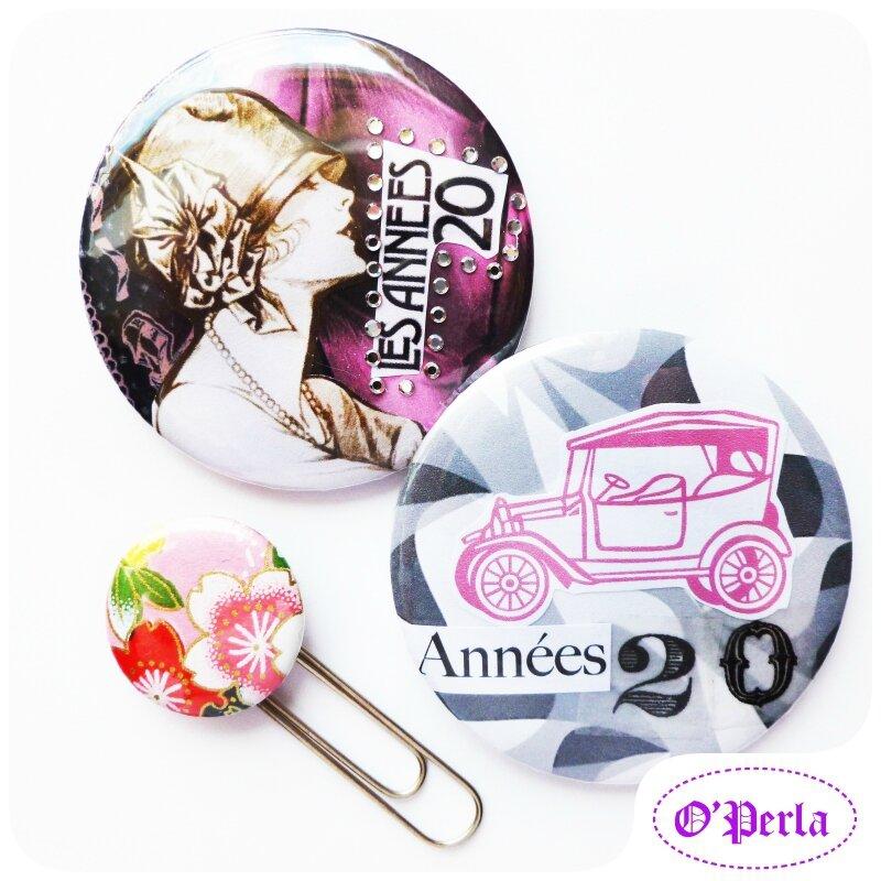 Ateliers Badges ANNEES FOLLES...