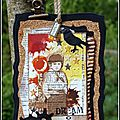 Un échange d'atcs sur libertyscrap / atcs trade with friends