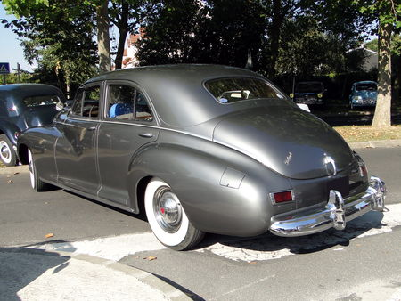 PACKARD Clipper Super Eight 4door Sedan 1941 A la Recherche des Autos Perdues Guermantes 2009 5
