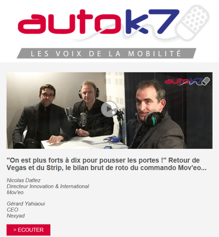 interview de NEXYAD et MOVEO sur RadioK7