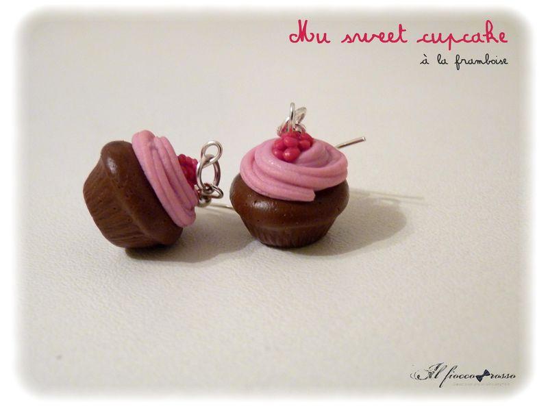 My sweet cupcake à la framboise