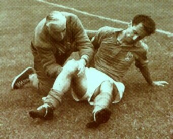 1958 Jonquet blessure Hainaut